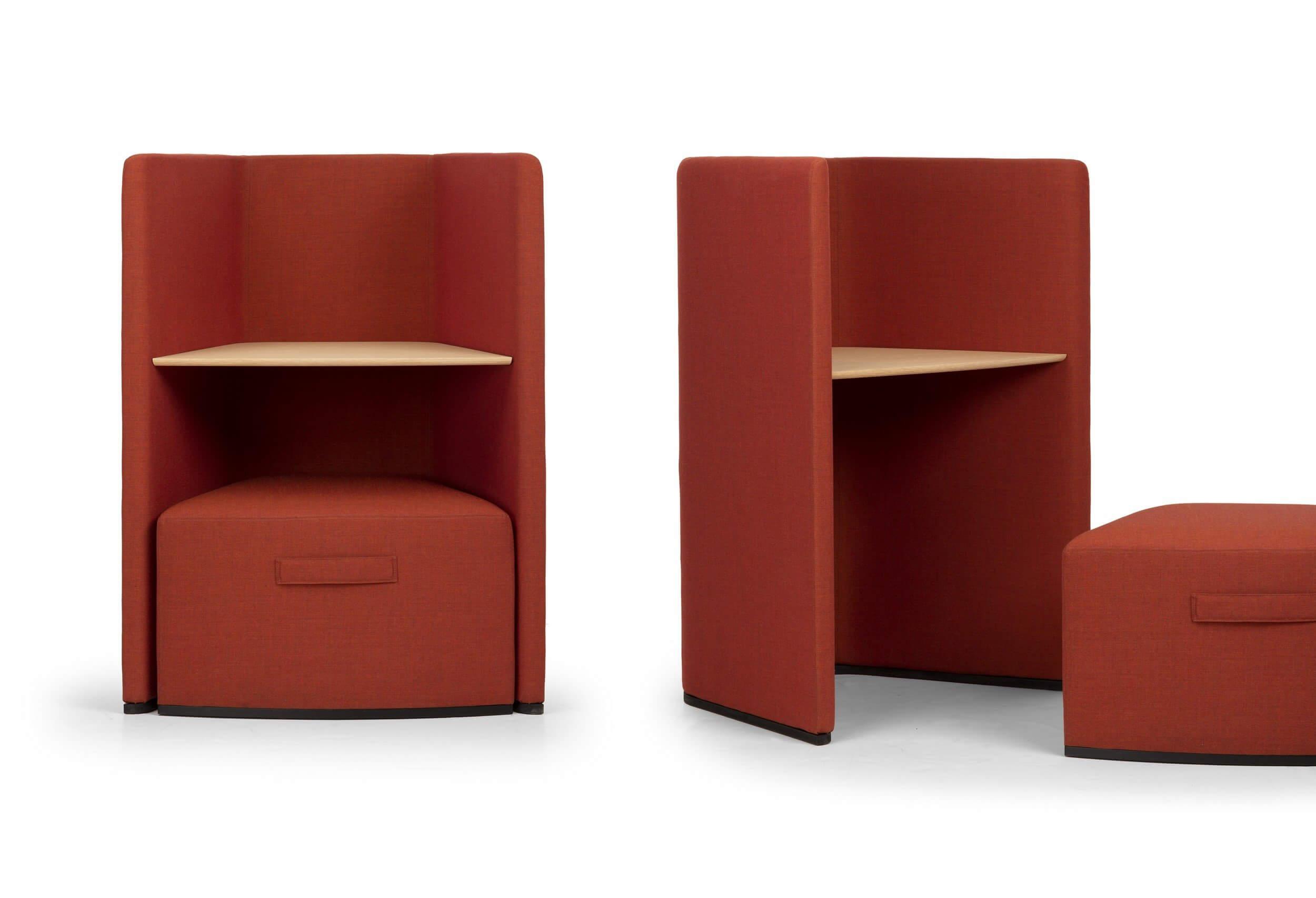 Petite cellule de travail compacte et acoustique ORACLE