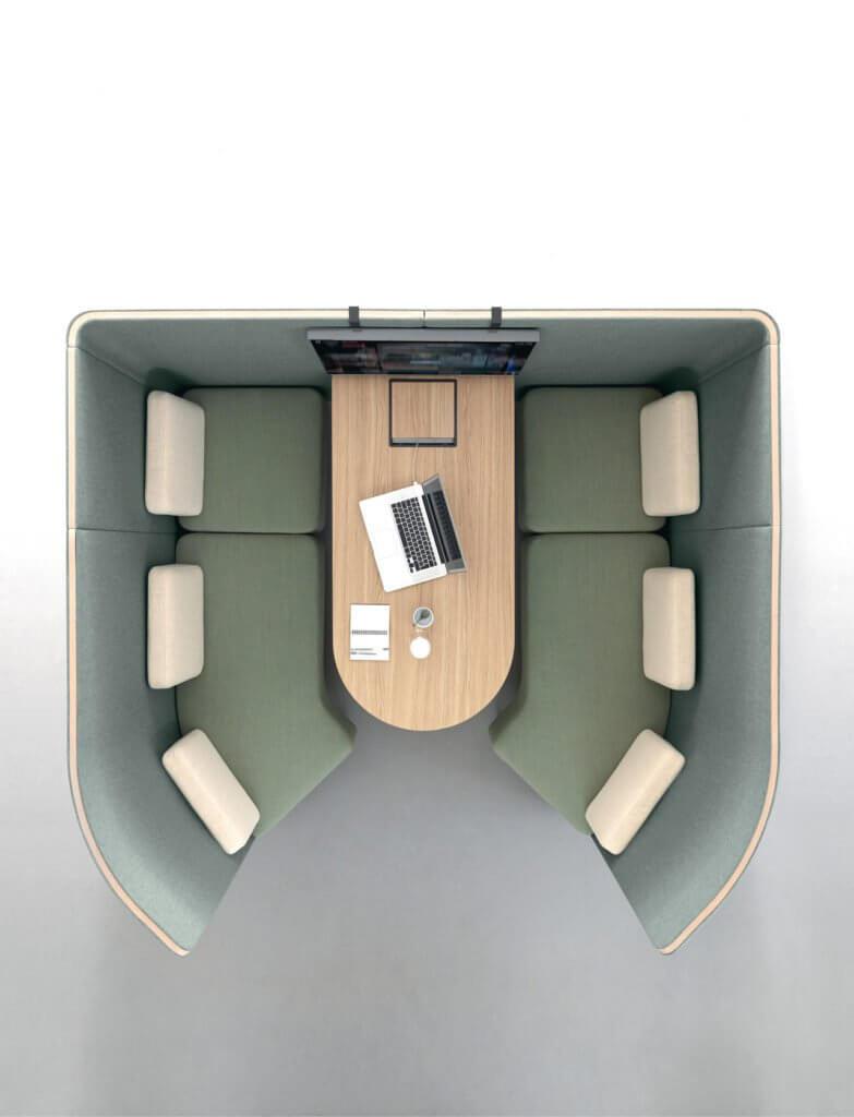Alcôve acoustique design BULLE