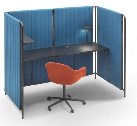 Bureau acoustique open space PARAVENT