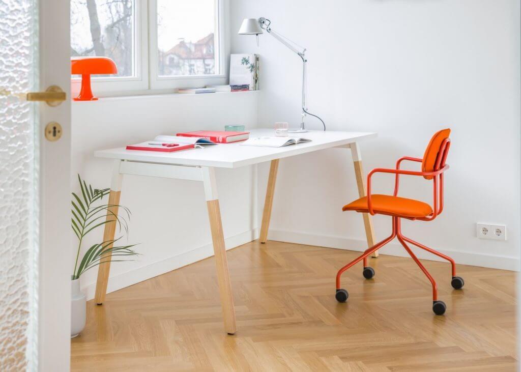 Bureau bench de coworking WANDER