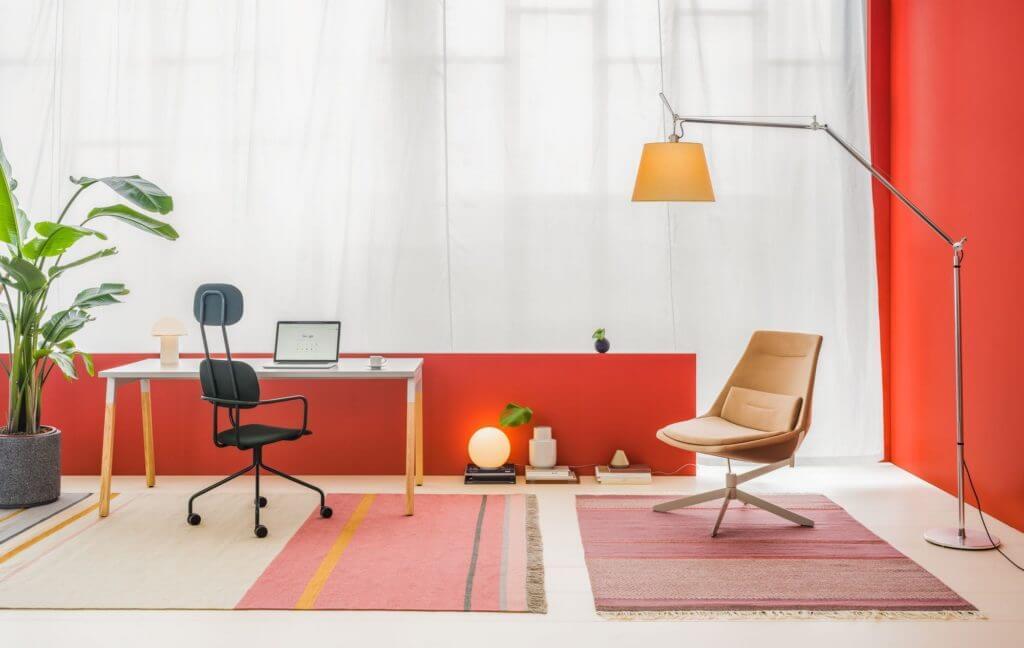 Bureau droit WANDER design et pas cher