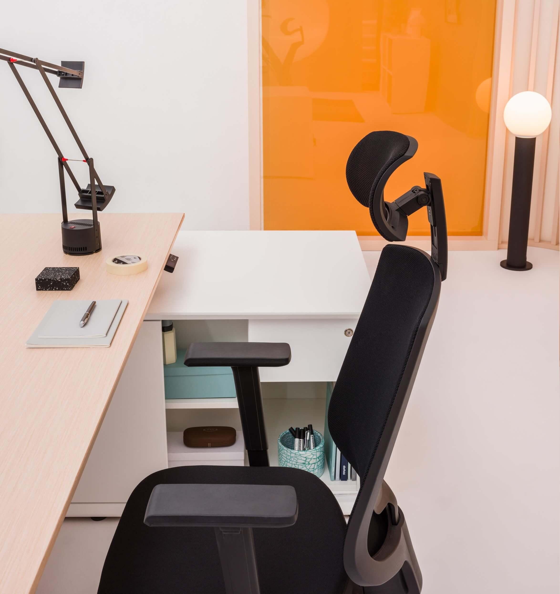 Bureau direction avec meuble rangement