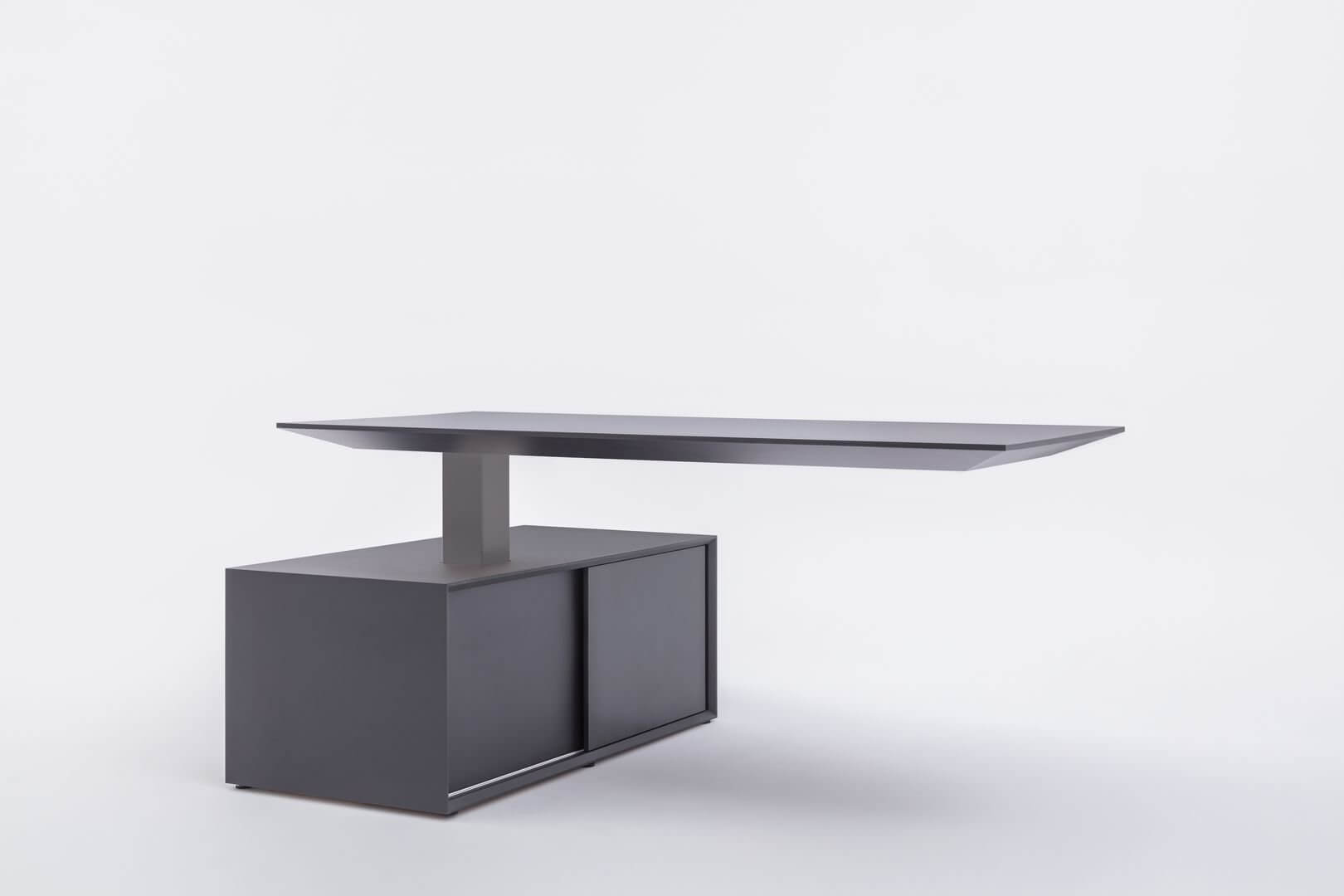 Bureau direction design noir GRAVITE