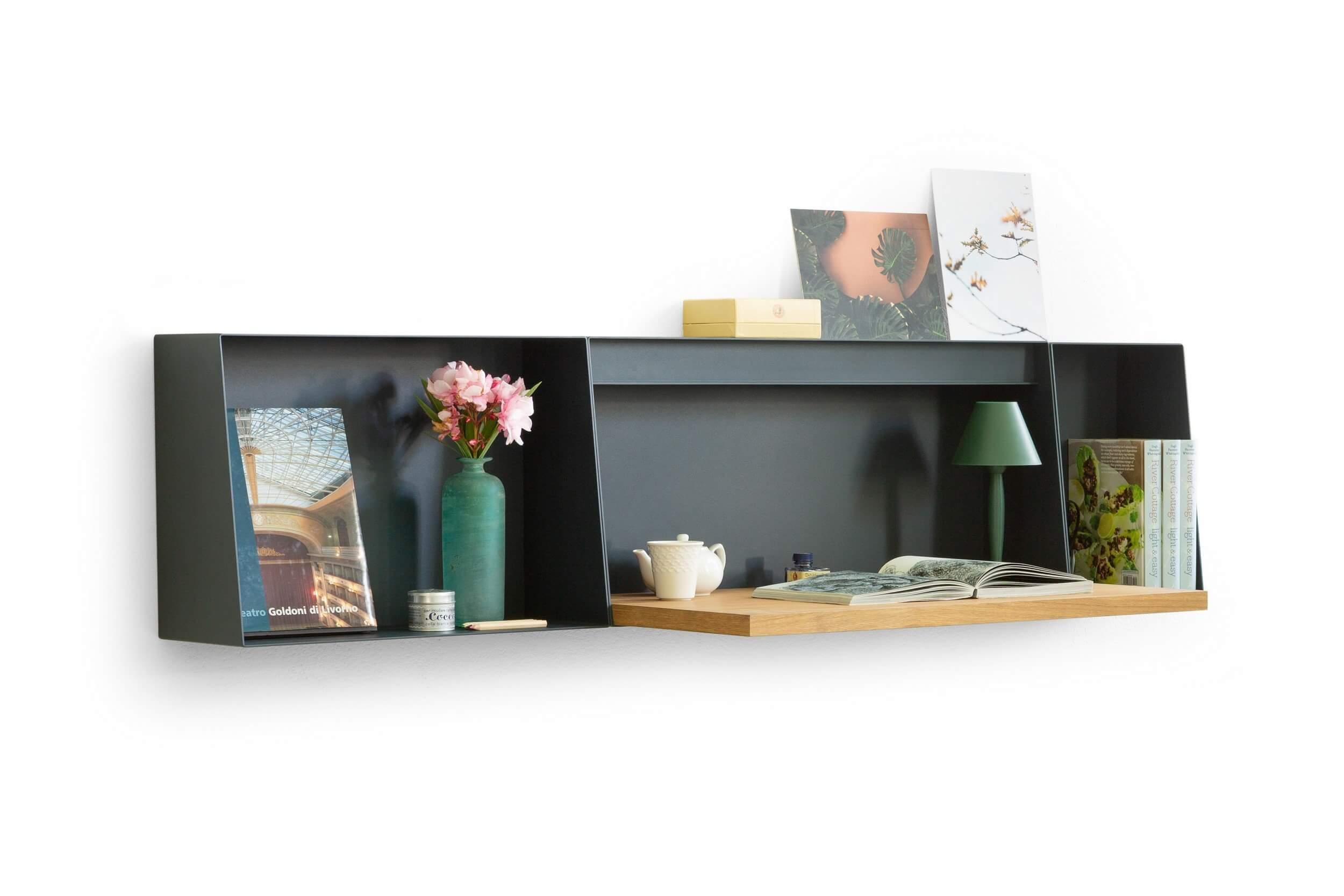 Petit bureau design pour la maison avec rangements