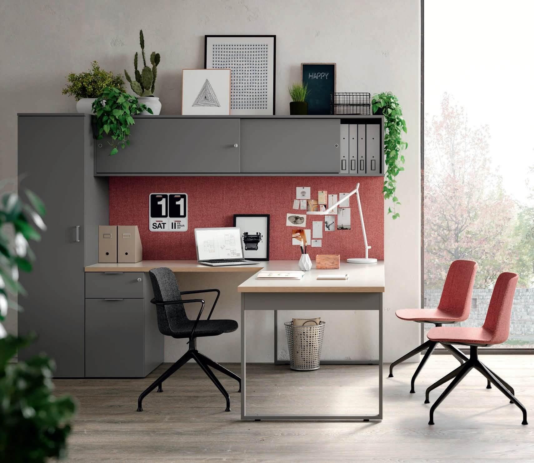 Bureau design avec retour