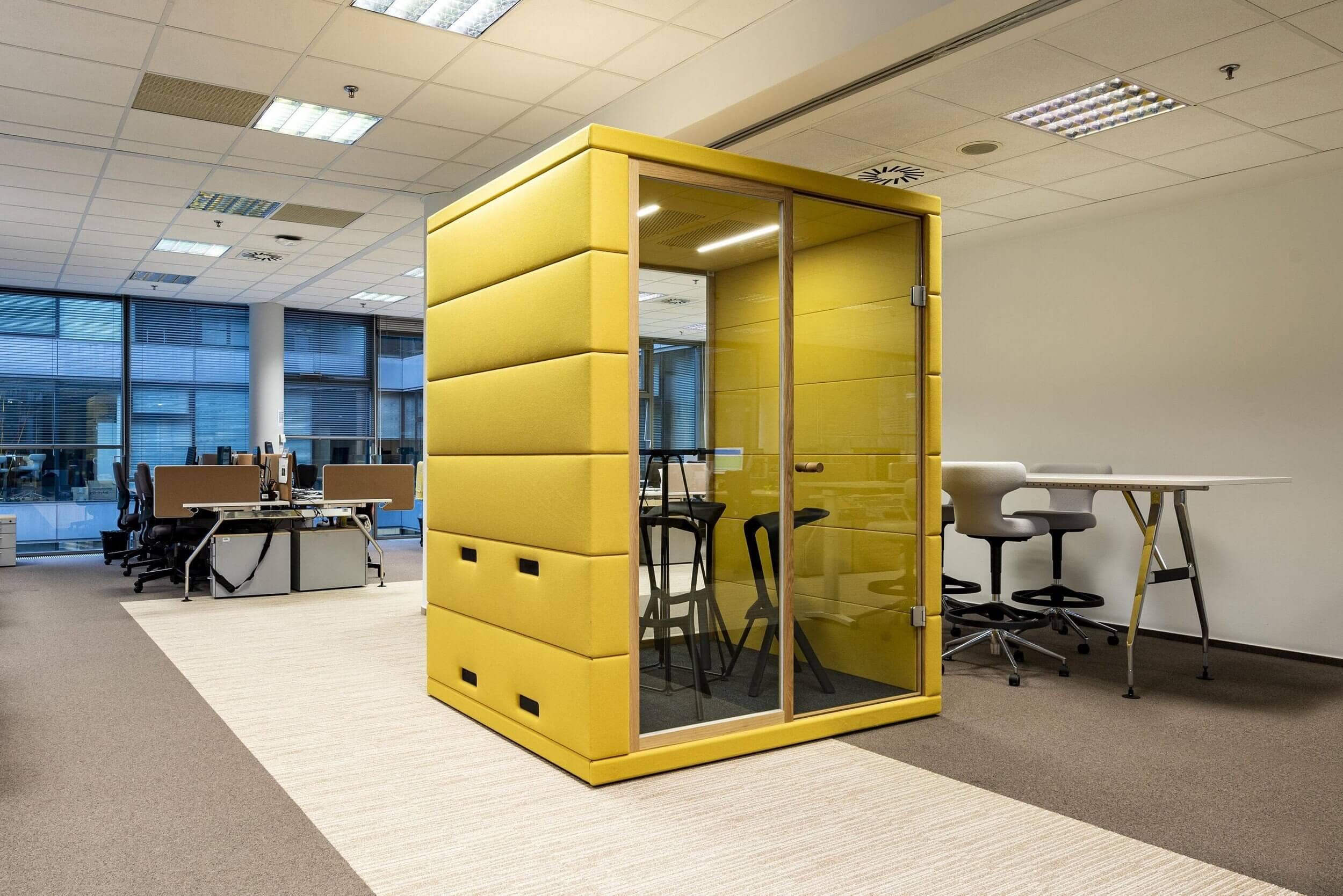 Cabine acoustique pour open space QUAD