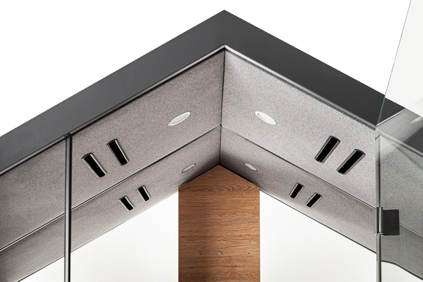 Box acoustique forme maisonnette HOME.