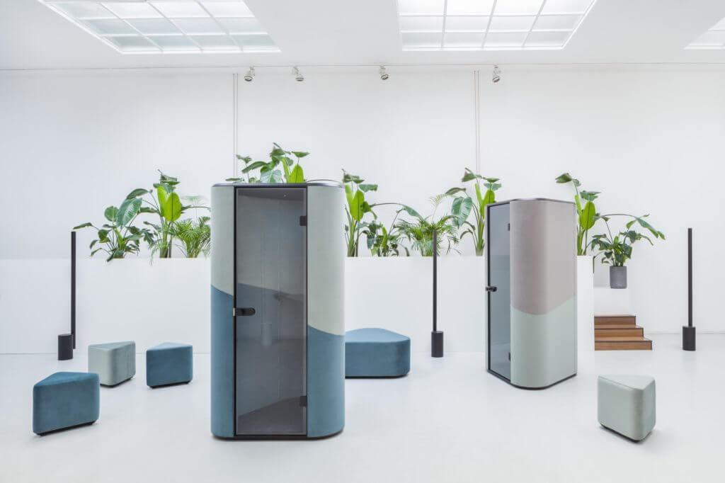 Cabine acoustique bureau