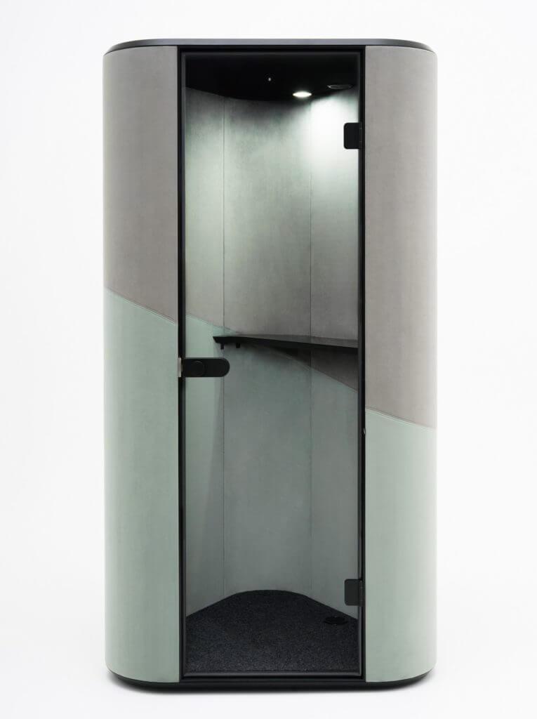 Cabine acoustique compacte BOOMERANG