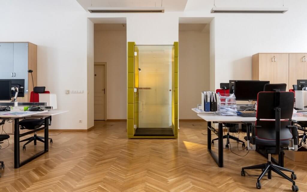 Bulle confidentielle design pour bureau open space