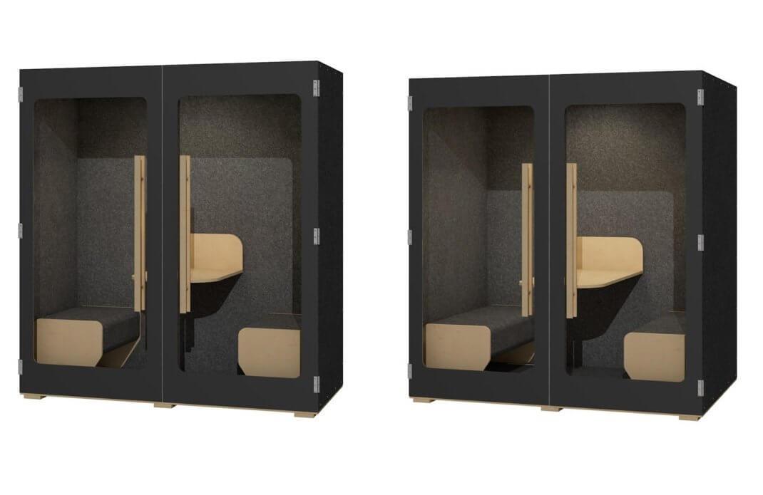 Box de réunion acoustique pas cher NINO