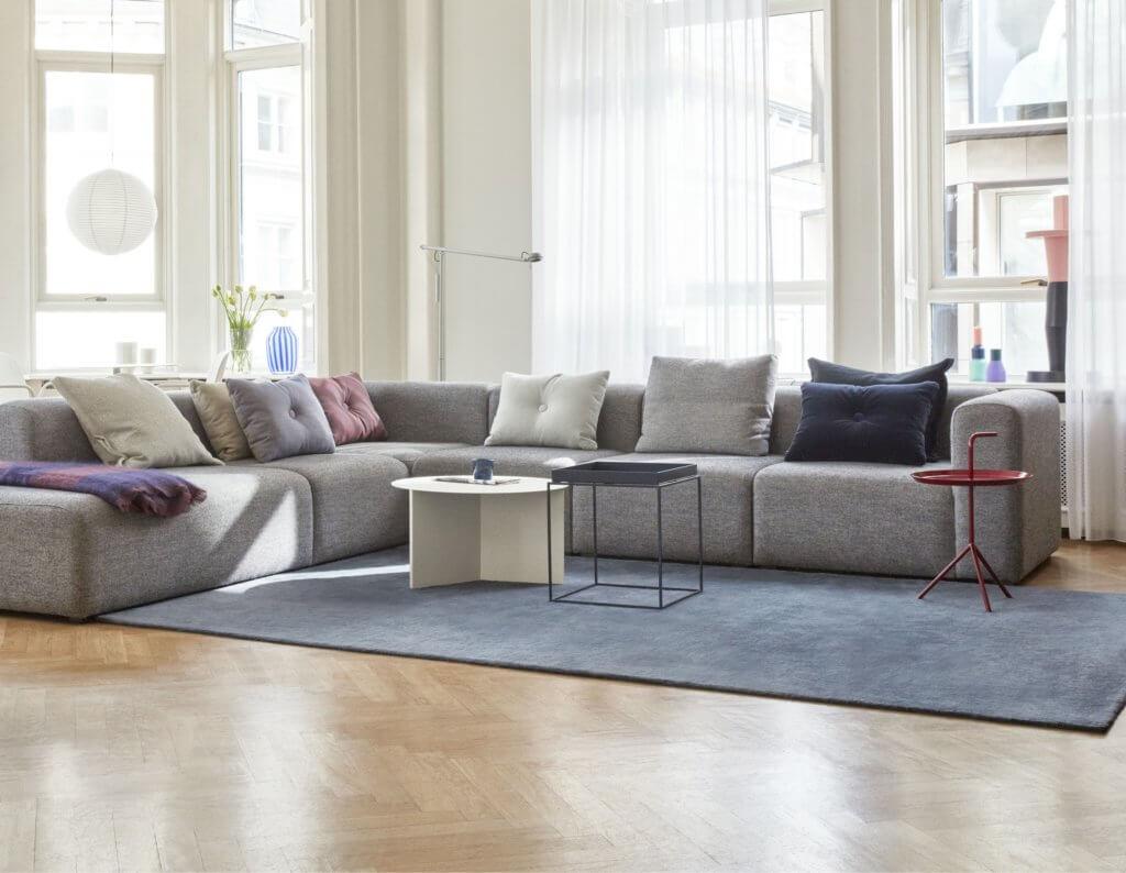 Canapé design avec module d'angle SOFT