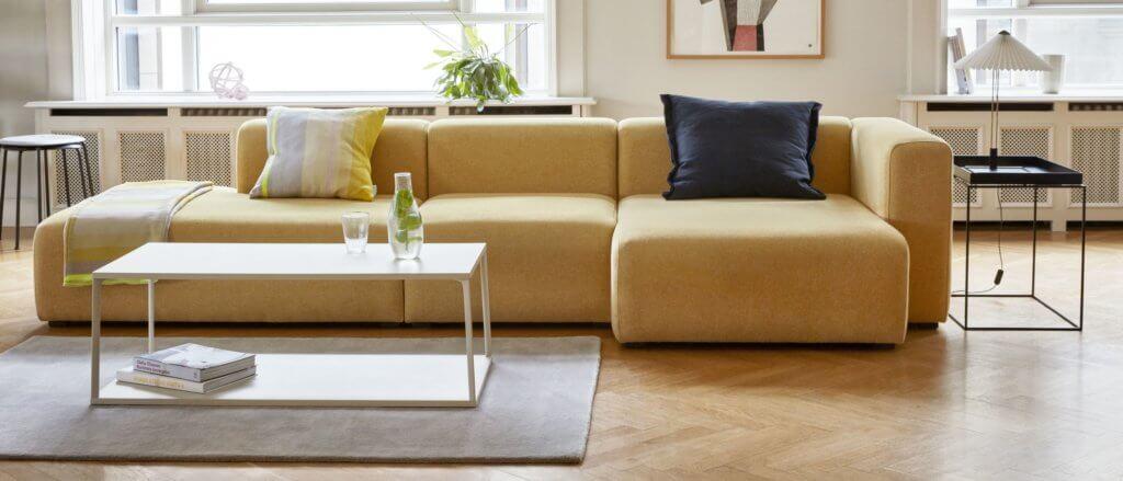 Canapé d'angle avec méridienne SOFT