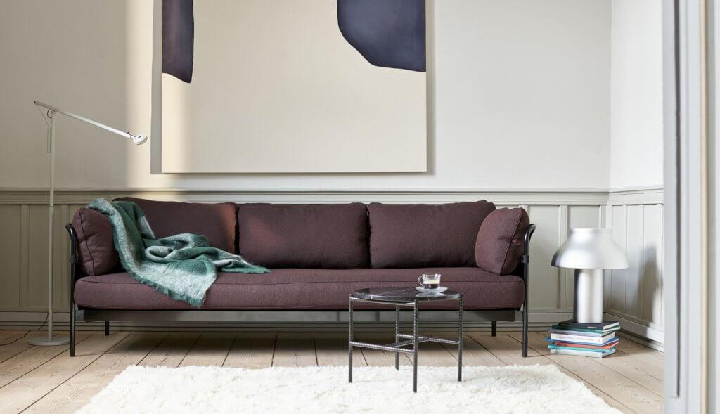 Canapé design trois places CAN