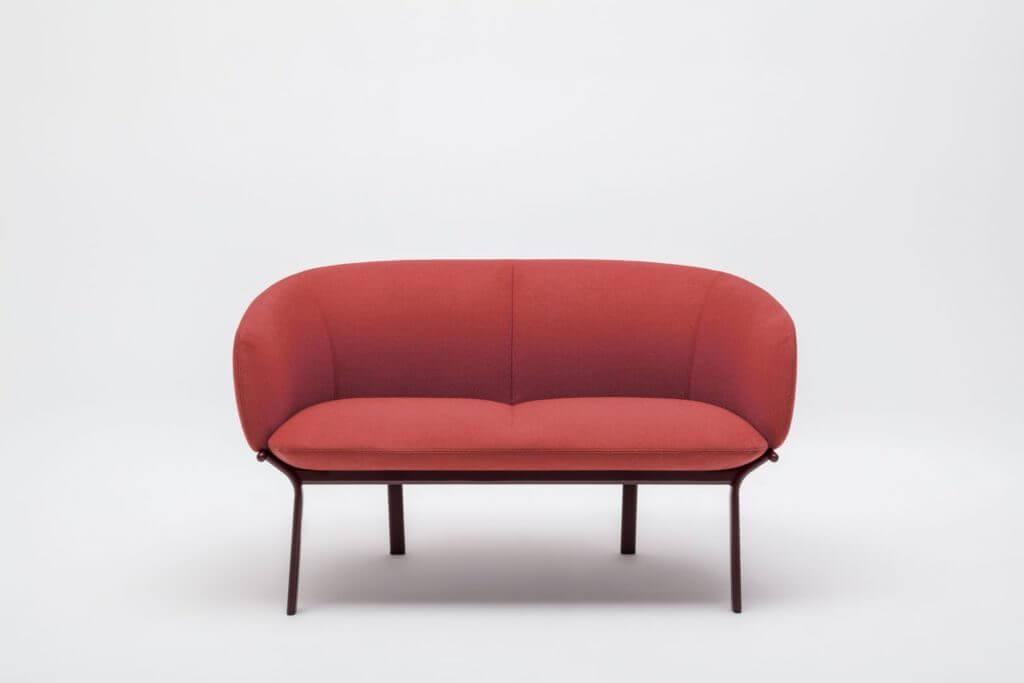 Petit canapé design 2 places GRACE