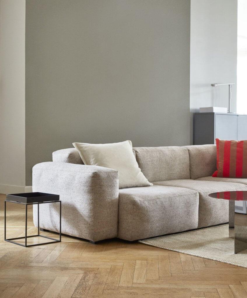 Canapé modulable design en lin