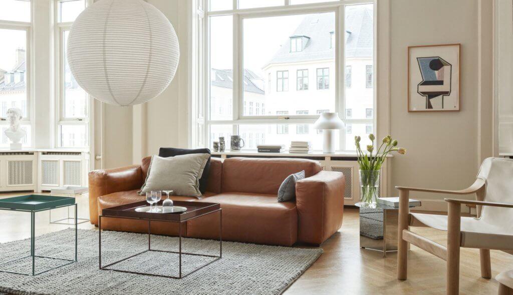 Canapé haut de gamme en cuir SOFT