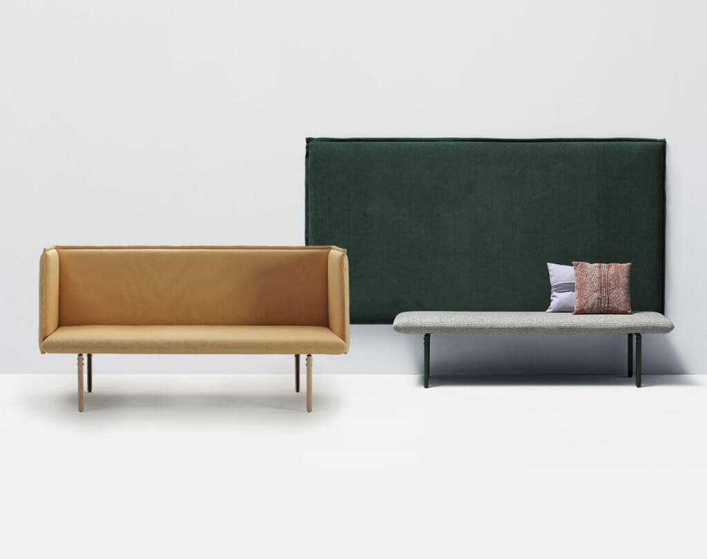 Banc design mobilier de cafétéria