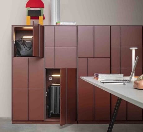 Casier vestiaire design de bureau KEY