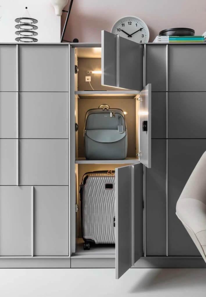Casier de bureau format valise cabine KEY
