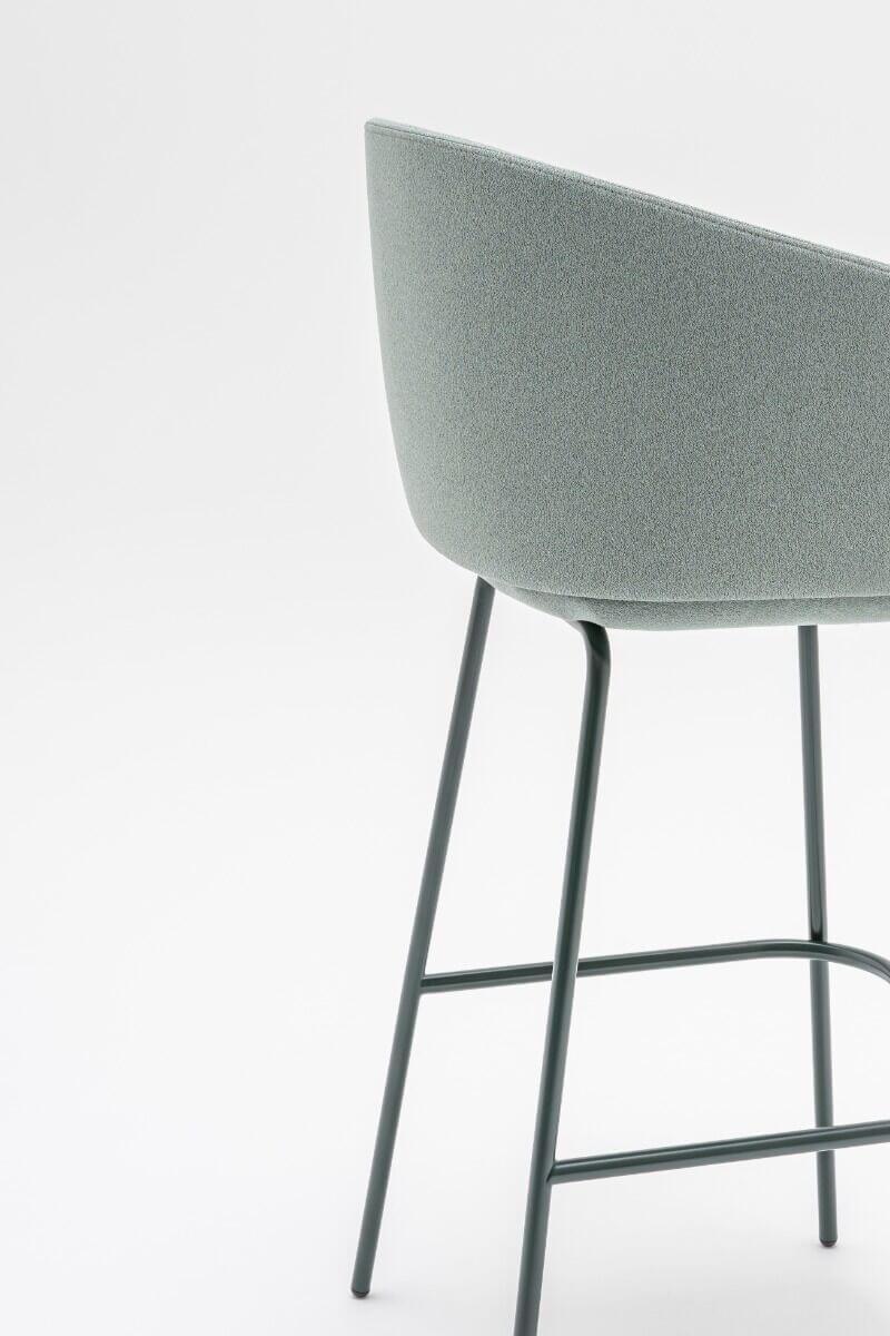 Chaise haute avec dossier GRACE