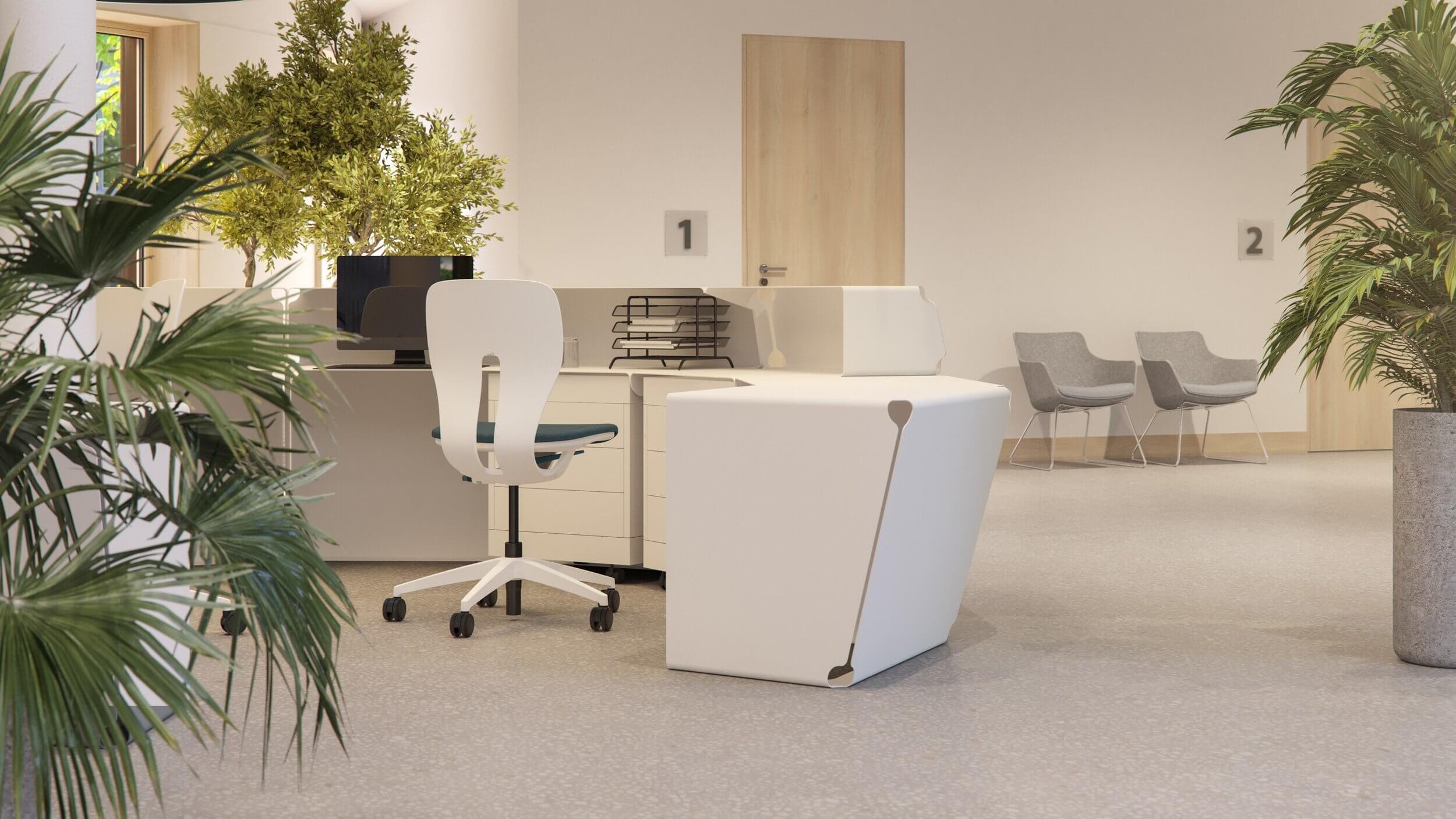 Chaise de bureau pour les professionnels LIM.