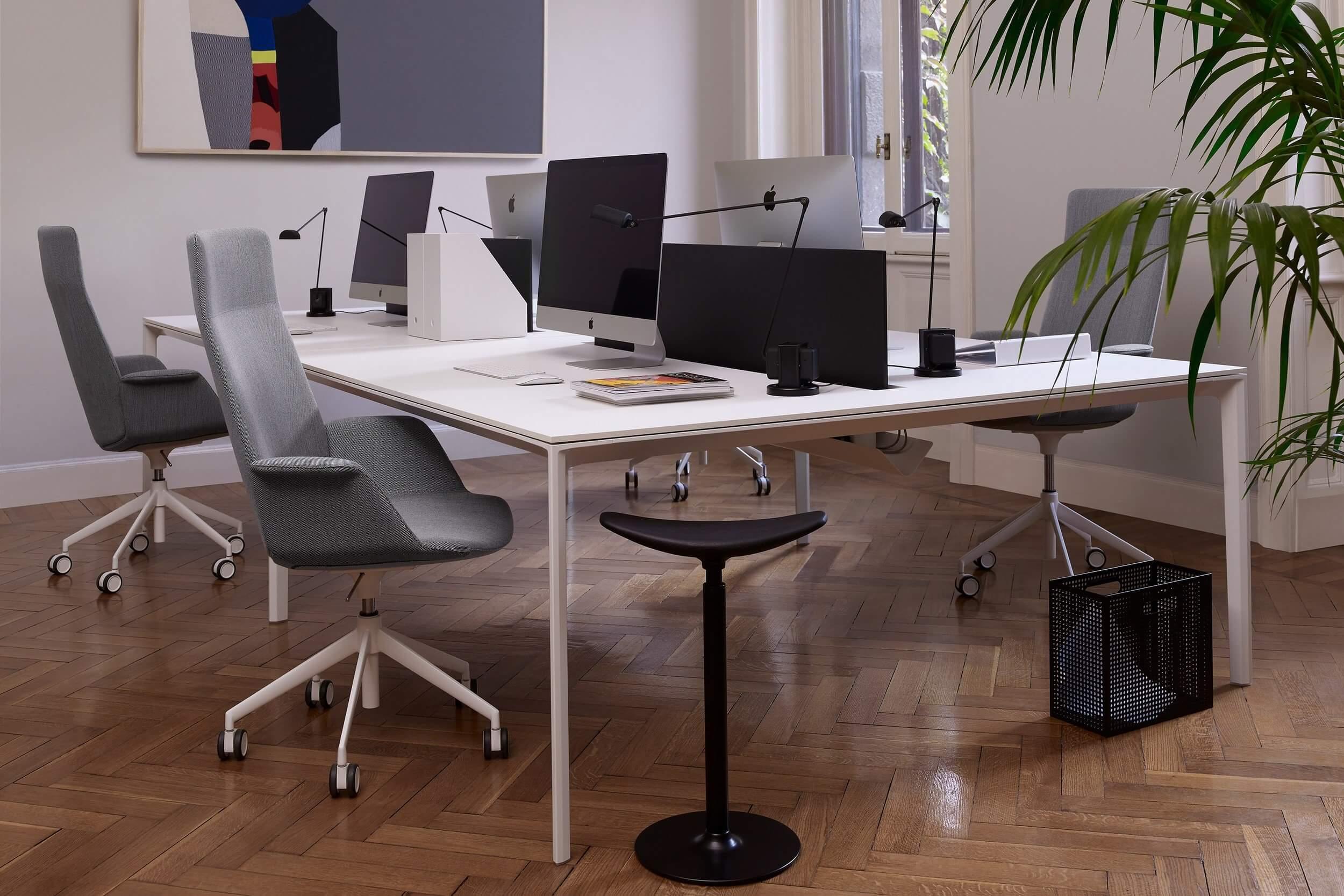 Chaise de bureau design et haut de gamme UNO.