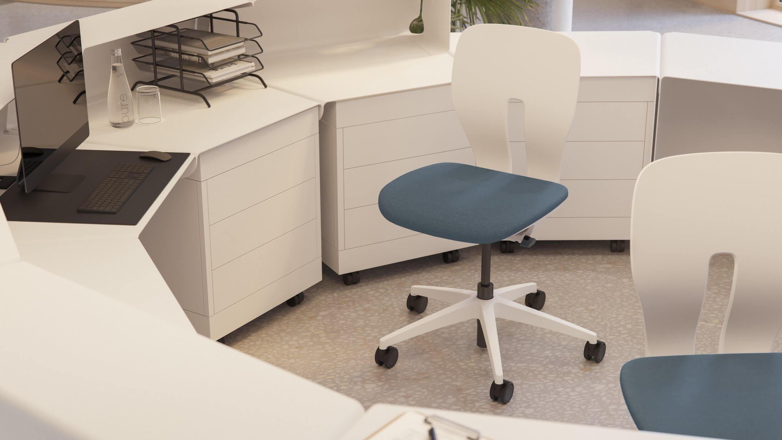 Chaise de bureau hygiène LIM.