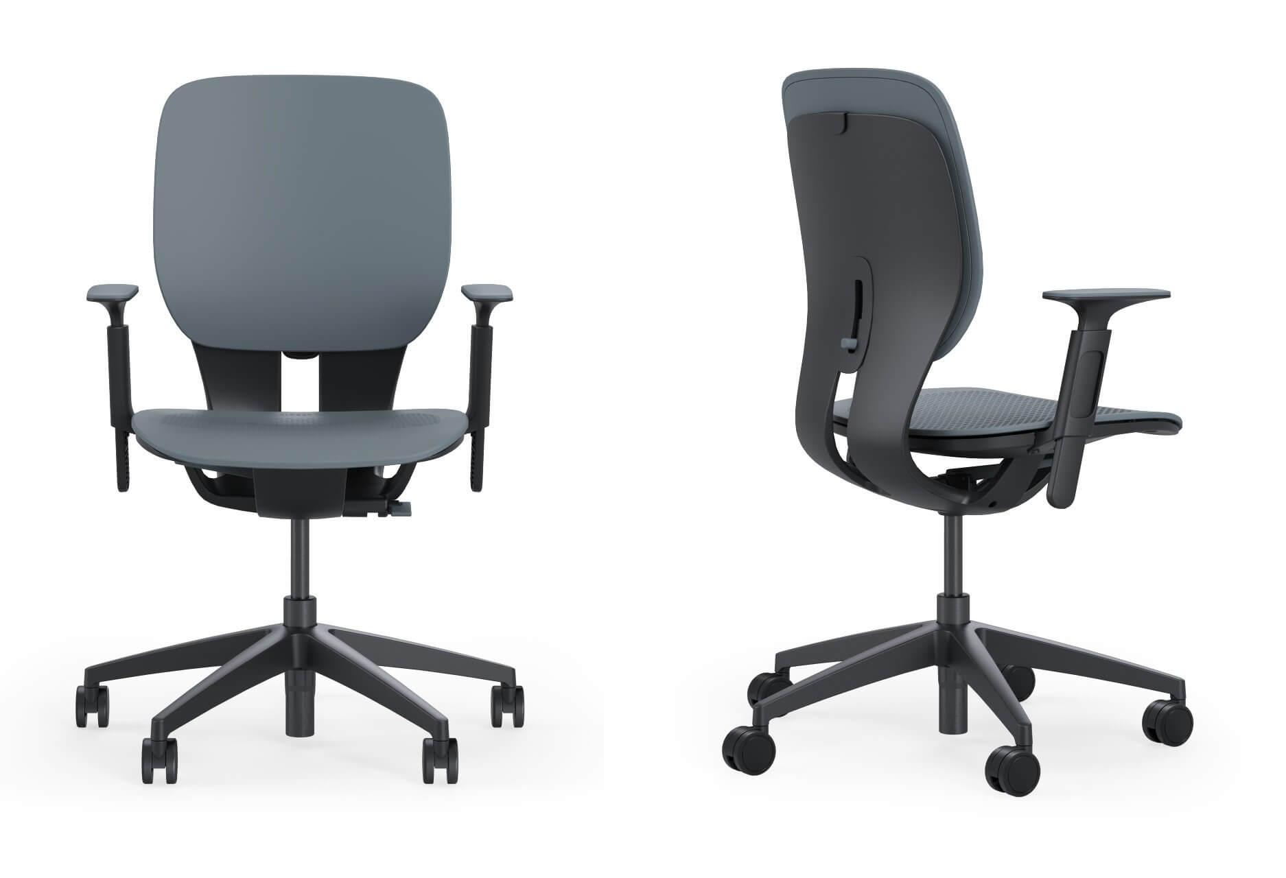 Chaise de bureau avec accoudoirs LIM.