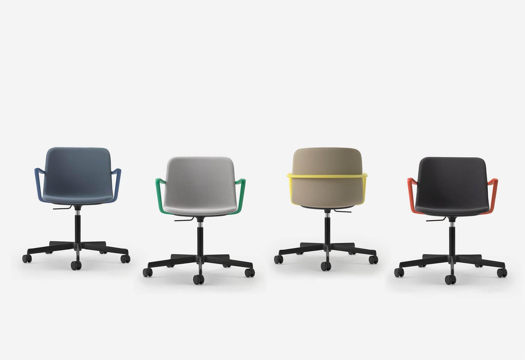 Chaise de bureau colorée APPIA
