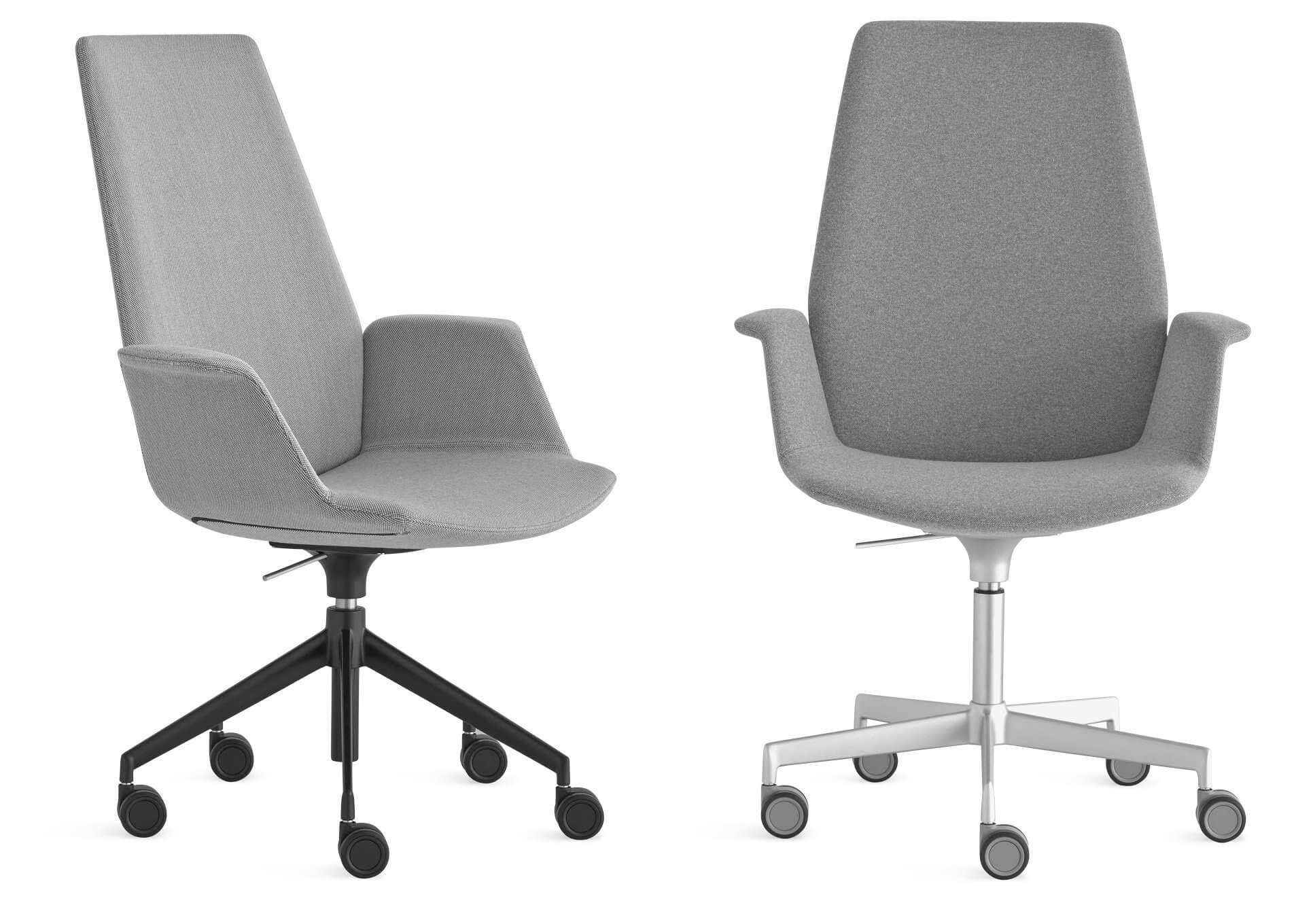 Chaise de bureau design et ergonomique UNO.