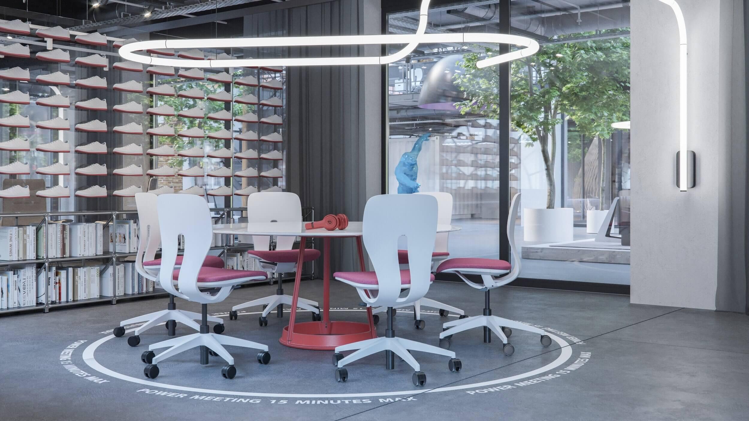 Chaise de bureau moderne design LIM.
