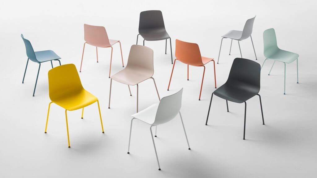Chaise coque design pas cher