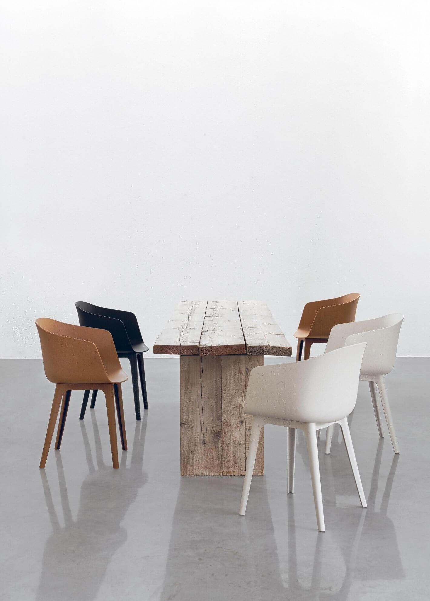 Chaise de mobilier de bureau bénéficiant d'une éco-conception