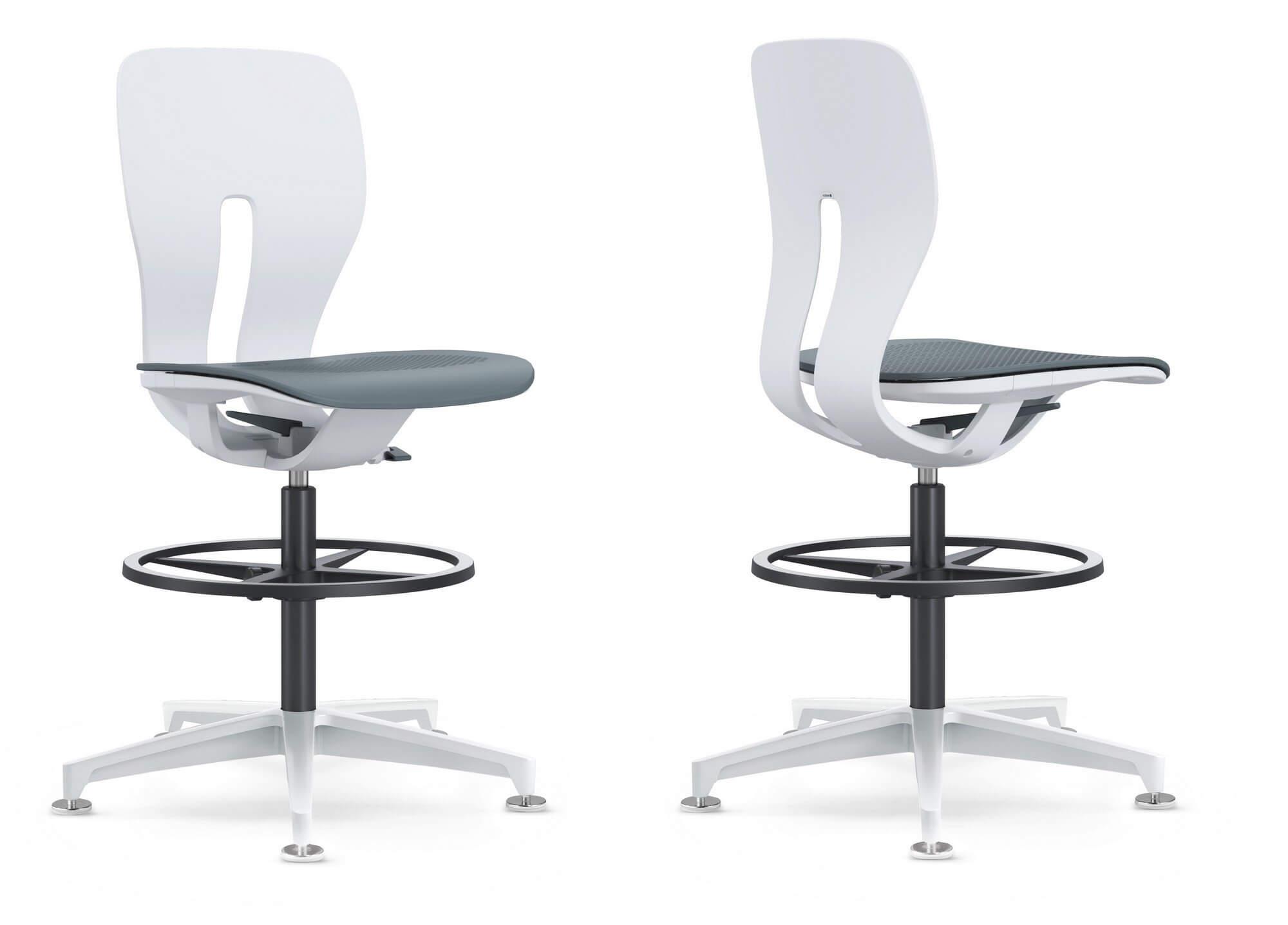 Chaise de bureau assise haute LIM.