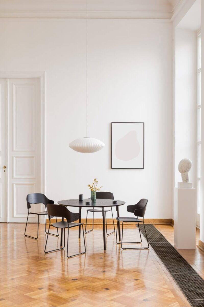 Chaise de restaurant design avec accoudoirs FEEL.