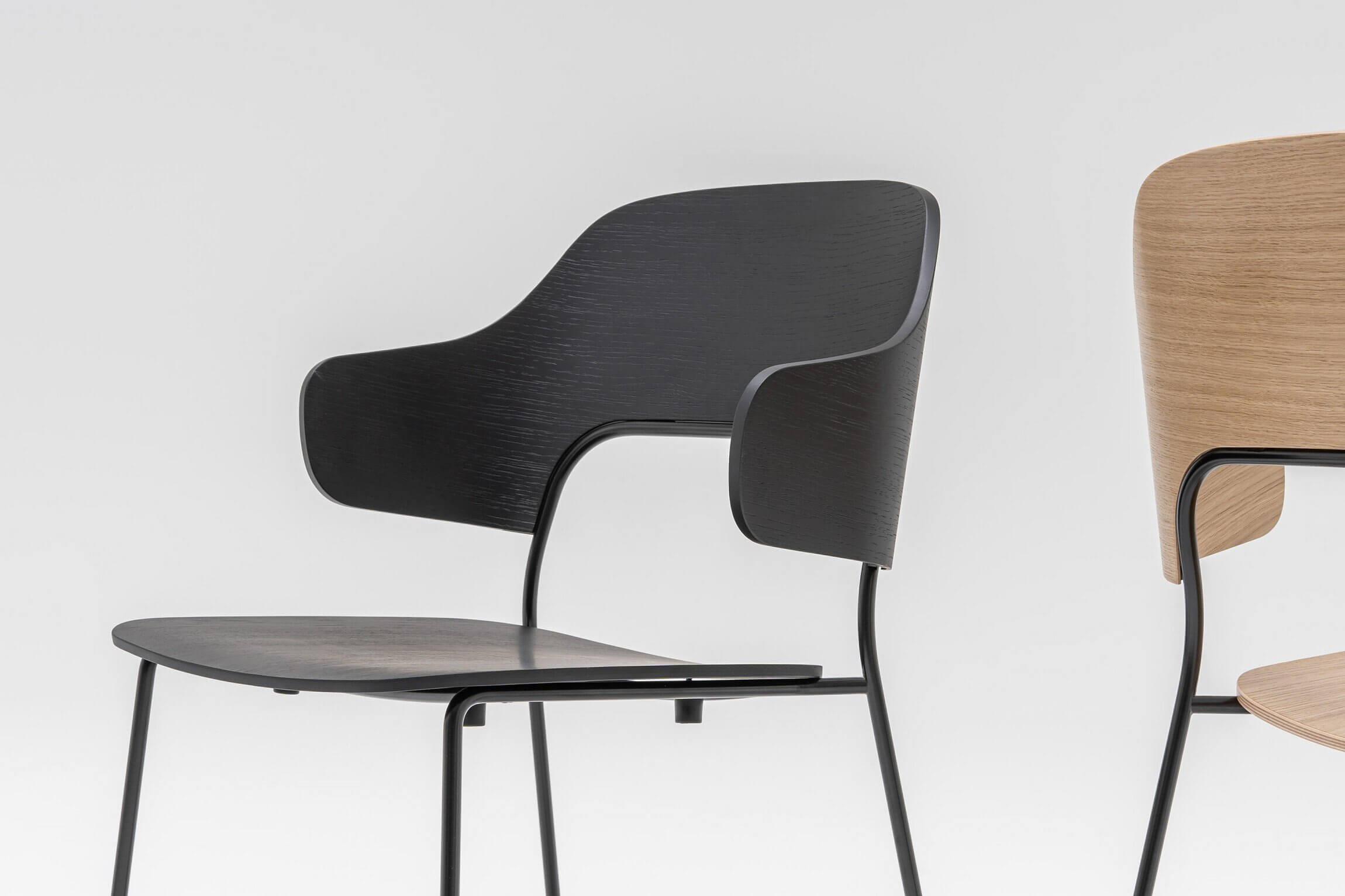 Chaise de restaurant moderne et confortable FEEL.