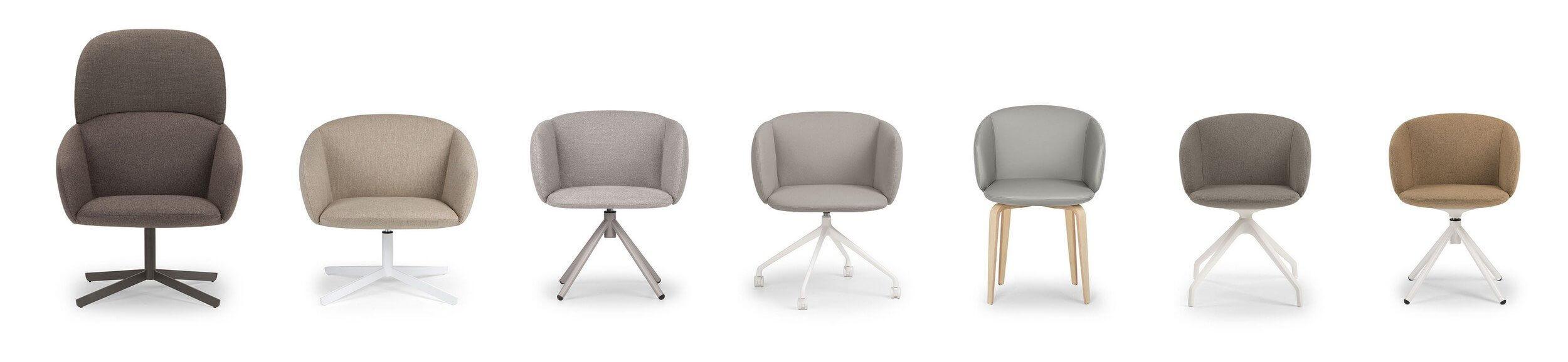 Chaise de réunion polyvalente et design NOT.