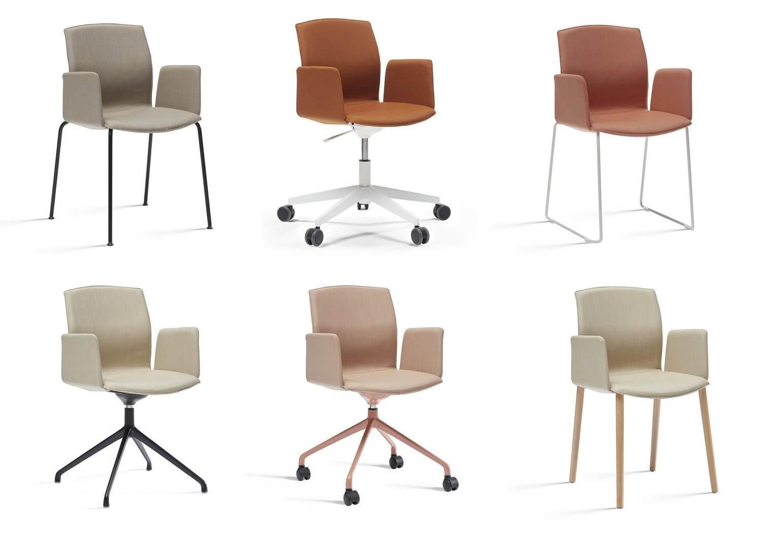 Présentation des finitions de la chaise KB.