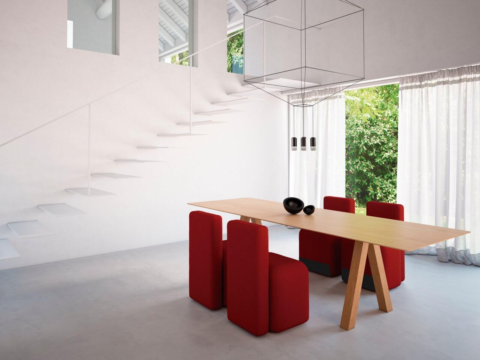 Chaise de réunion design mobile SEASON.