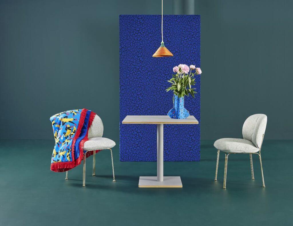 Chaise design vintage pour coworking