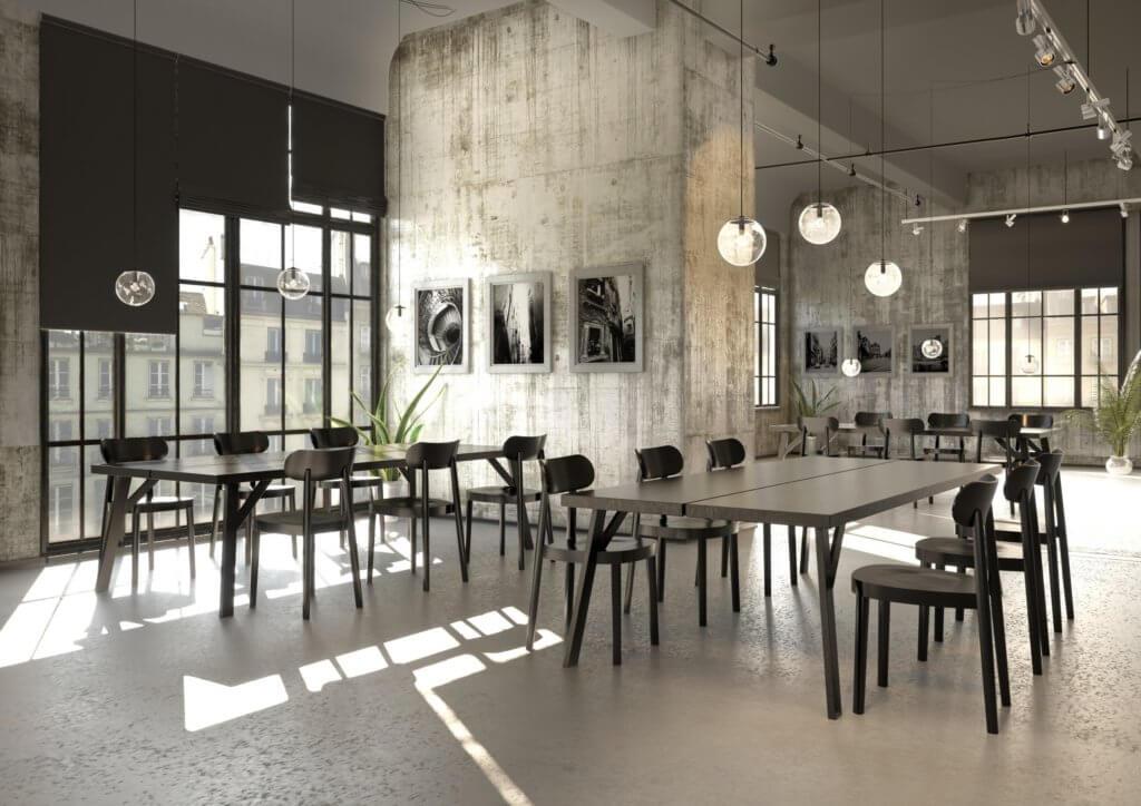 Siège de cafétéria design 118