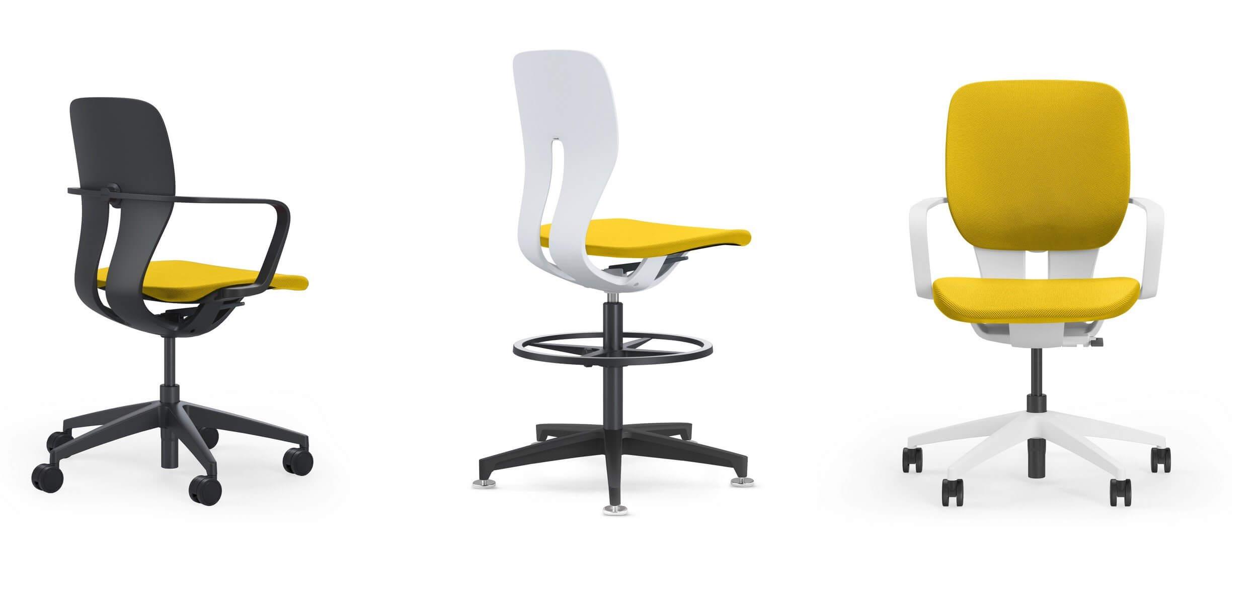 Chaise de bureau avec housse LIM.