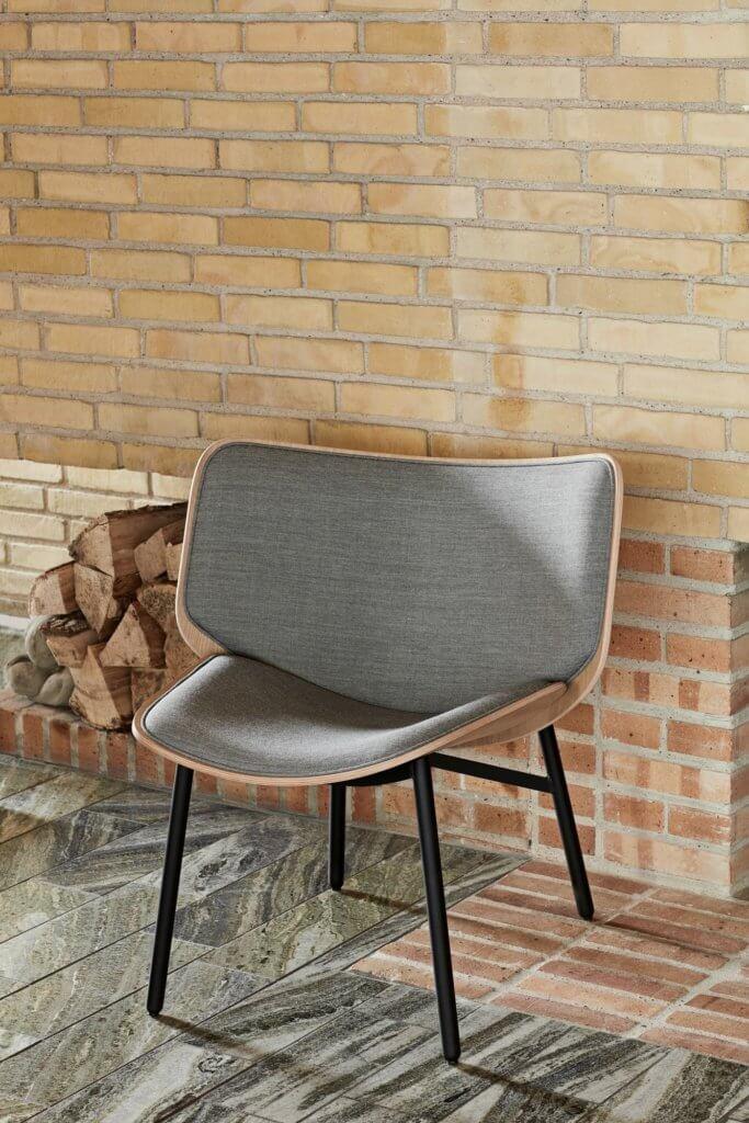 Petit fauteuil design de salon