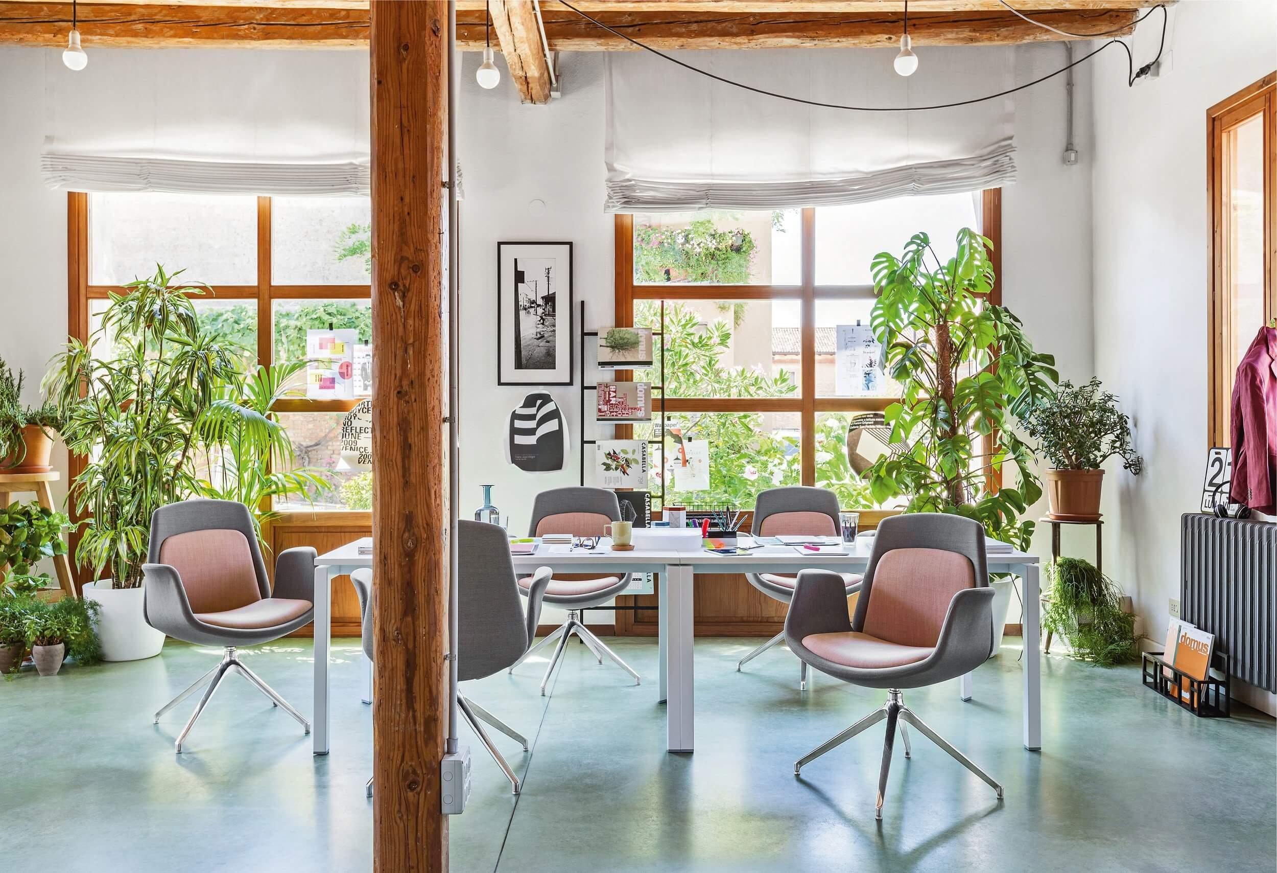 Fauteuil de réunion pivotant design