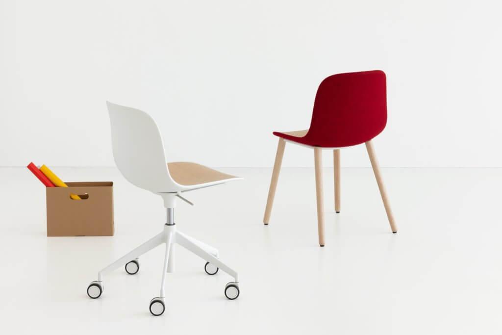 Chaise à roulettes design SEELA