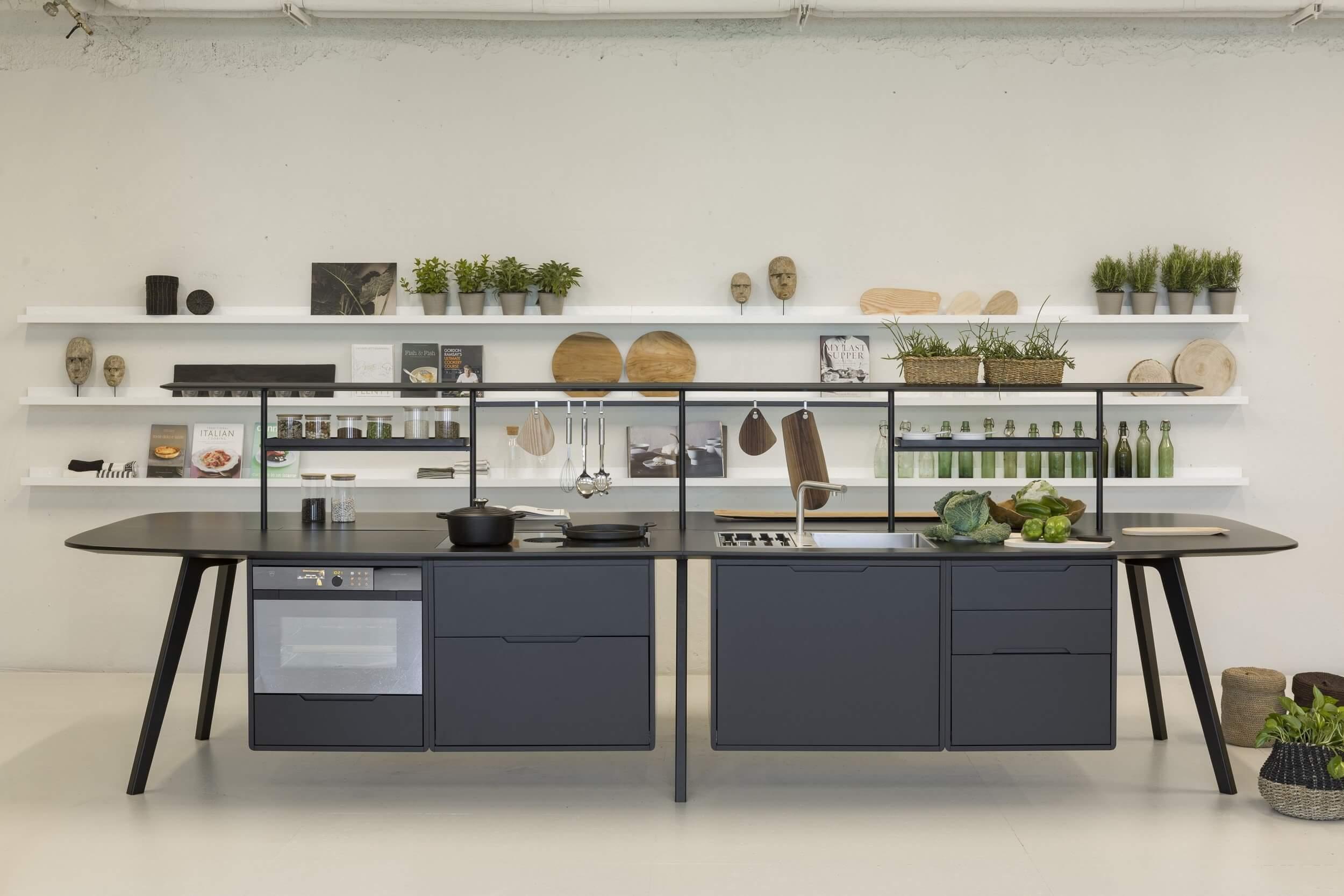 Cuisine équipée design clé en main pour les entreprises WING KITCHEN