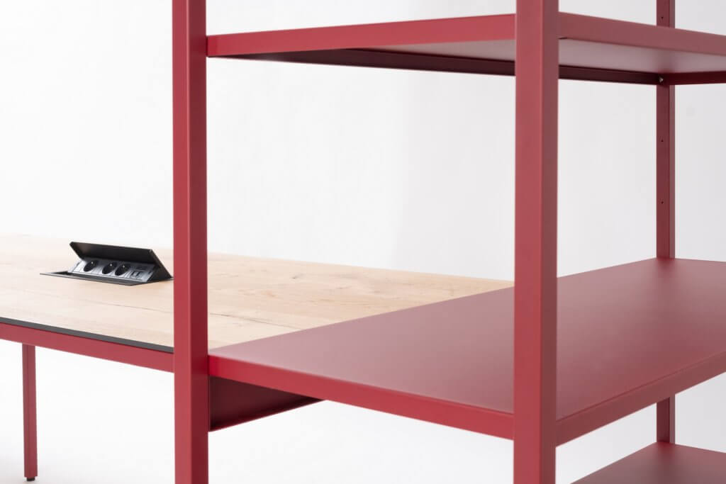 Électrification du mobilier de bureau