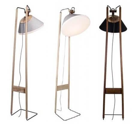 Lampadaire design artisanal KNGB