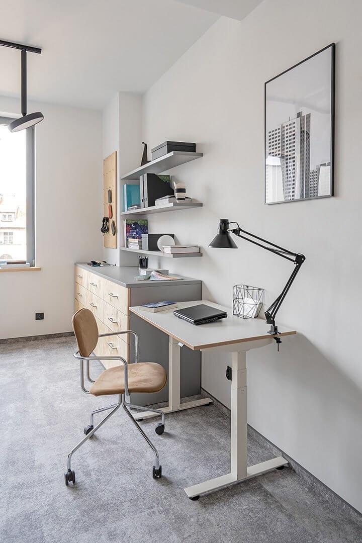 Mini bureau de télétravail COMPACT